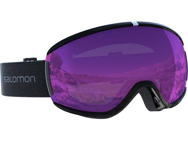 Salomon W's Ivy Goggles Black/Univ. Ruby